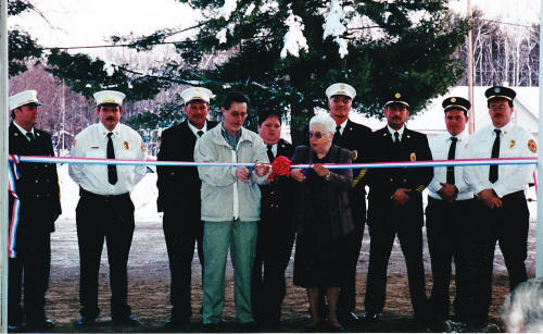 2002 Dedication of new station