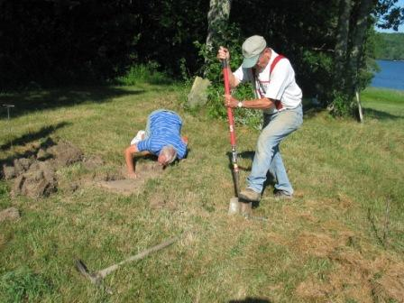 Uncovering Headstones