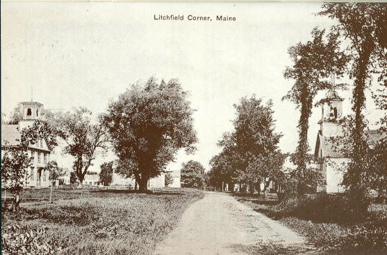 Litchfield Corner About 1900