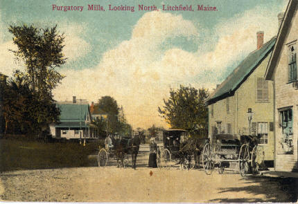 Purgatory Village In Horse And Buggy Days